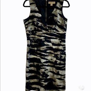 Michael Kors Zebra Dress Sleeveless with Pockets